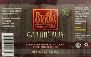 Brooks House of BBQ